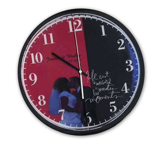Heidi Swapp decorated clock